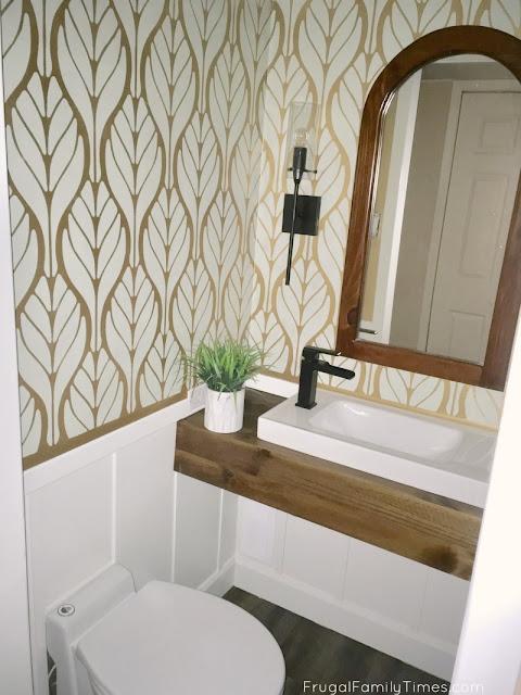 basement bathroom diy
