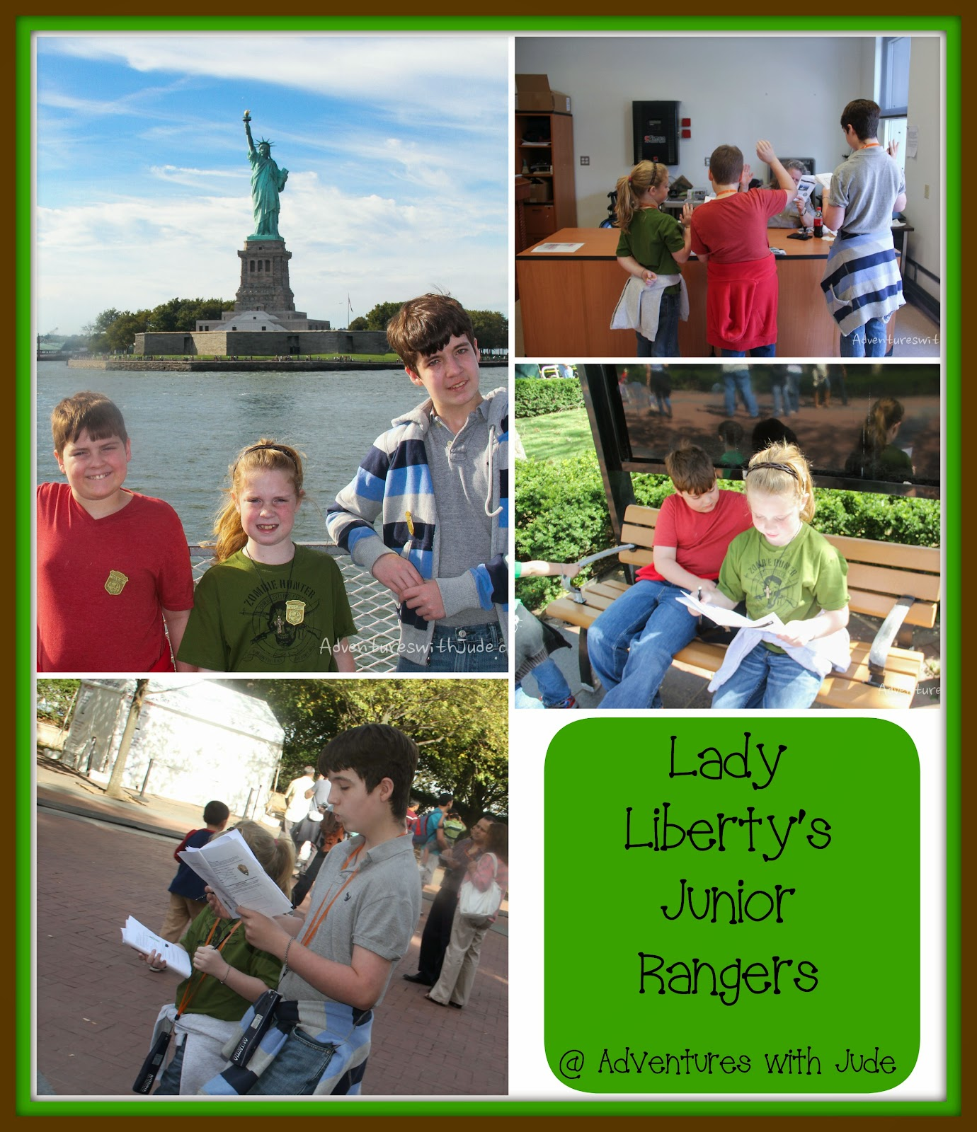 Become a Junior Park Ranger at the Statue of Liberty
