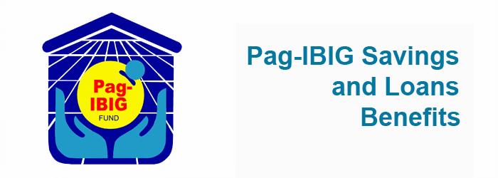 Pag-IBIG Savings and loans