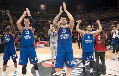 Anadolu Efes Euroleague finalinde