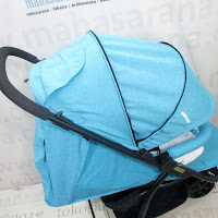 Kereta Bayi BabyDoes CH463 Three - Roda Tiga