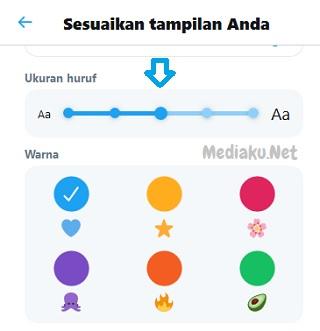 Atur Ukuran Font Di Twitter Lewat HP