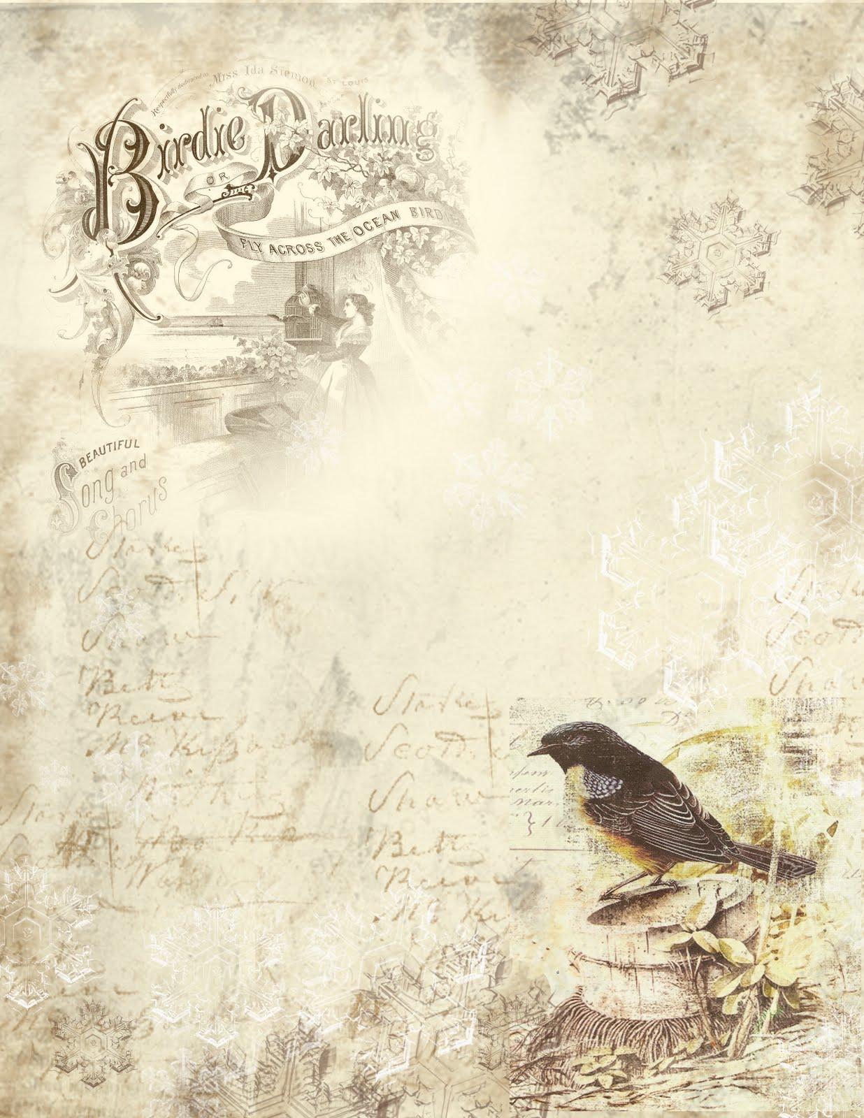 newspaper wallpaper of birds-#36