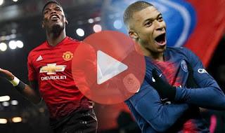 UEFA CHAMPIONS LEAGUE:: MAN U 0-2 PSG / Goals AND HIGHLIGHT