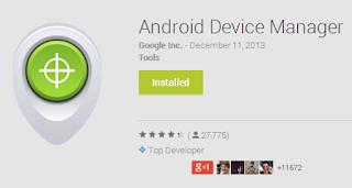 Temukan Android Hilang Dengan Dua Cara Ala Google