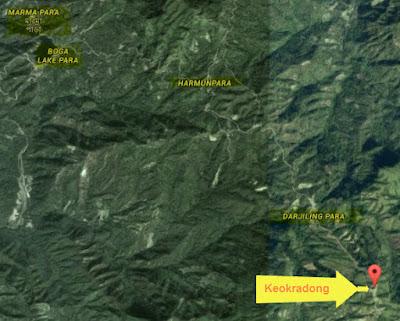 Keokradong Map
