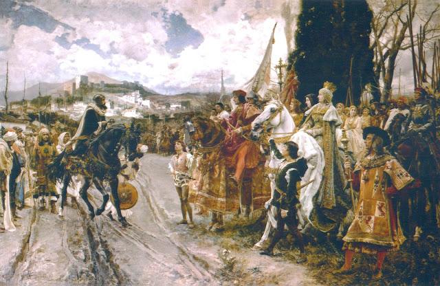 Francisco Pradilla y Ortiz - La rendición de Granada - 1882