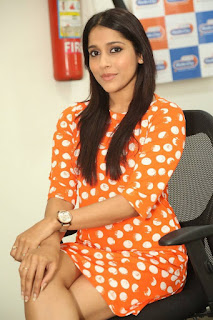 Actress Rashmi Gautham Pictures in Short Dress at tur Talkies Promo Song Launch at Radio City  0013