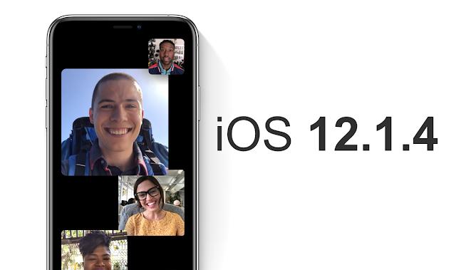 iOS 12.1.4 Sekarang Tersedia Dengan Perbaikan Bug Group FaceTime