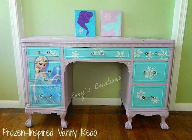 Frozen-Inspired Vanity Tutorial HERE