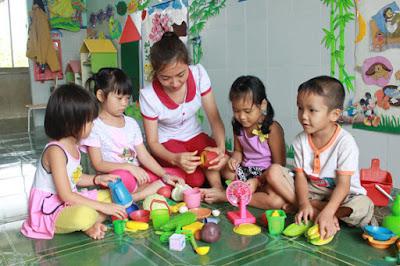 giải pháp thúc đẩy cho ngành giáo dục mầm non phát triển