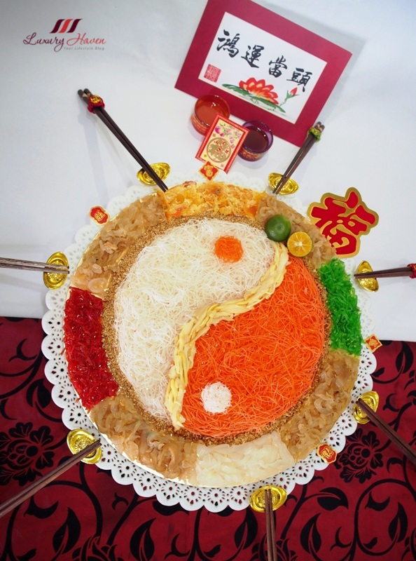 chinese new year lohei abalone yusheng recipe
