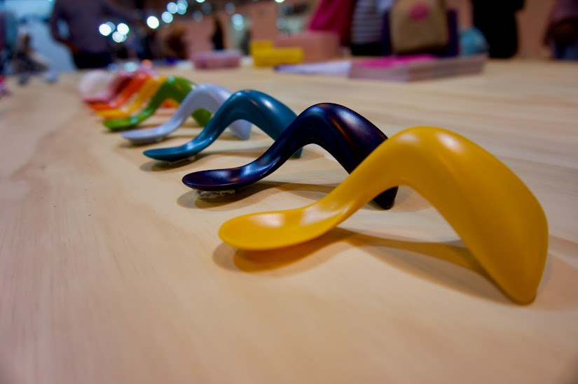 Cucharas ergonómicas de Kizingo Kids