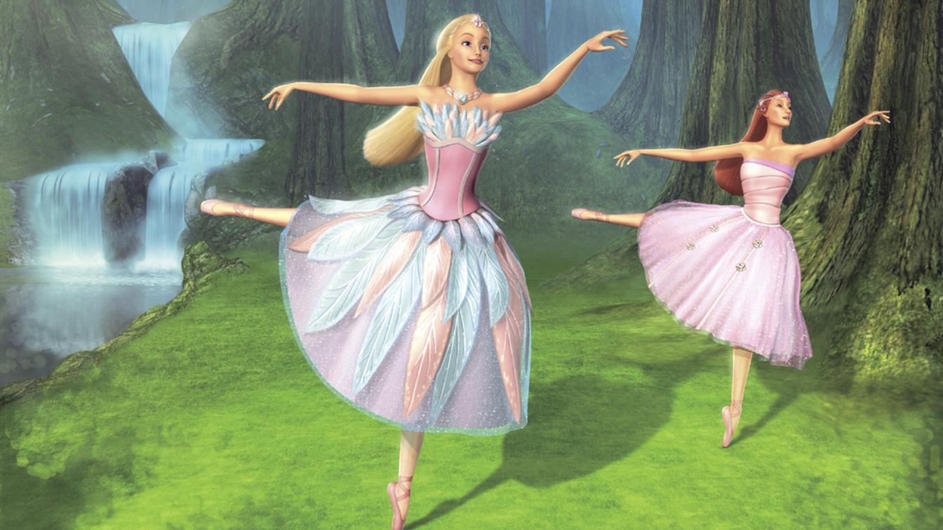 Barbie lago dei cigni bambino il suo mondo