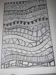 zentangle patterns drawing pattern zentangles doodle easy zen drawings doodles hooked beginners line step google background basics designs draw paper