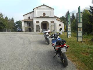 Il santuario della Madonna del Colletto