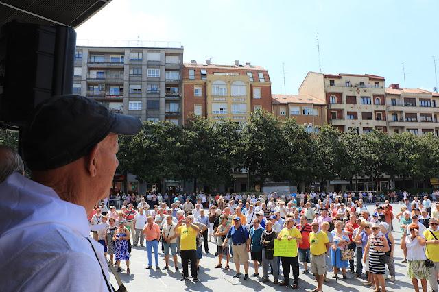 protesta de jubilados