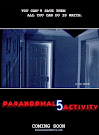 Film Paranormal Activity 5 The Ghost Dimension cover