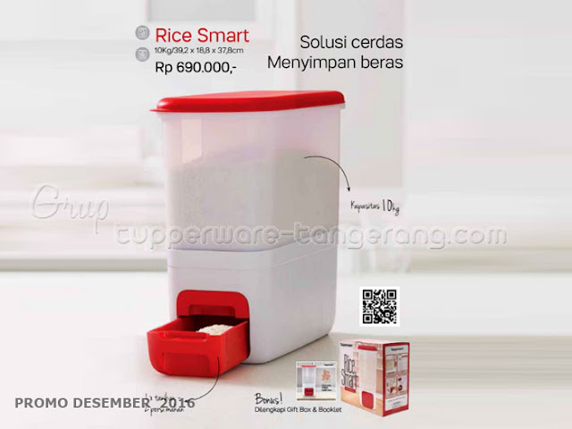 Rice Smart Promo Tupperware Desember 2016