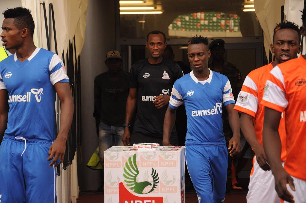 Ovoke was the name on every lip as he finished as Rivers United's top scorer