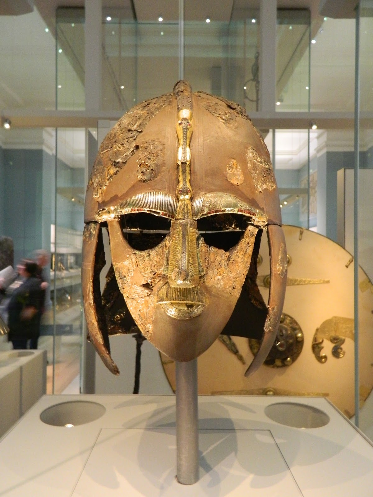 Mike's Modeling: British Museum #1 / Sutton Hoo Burial