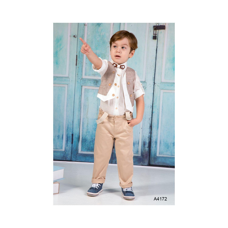 Greek Baptismal clothes for boys A4172