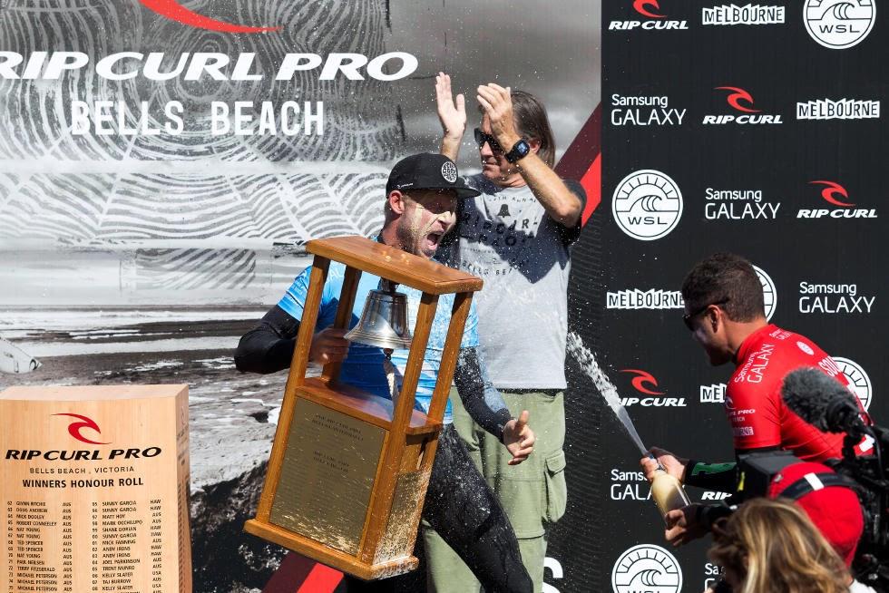 7 Rip Curl Pro Bells Beach Mick Fanning WSL Kirstin Scholtz