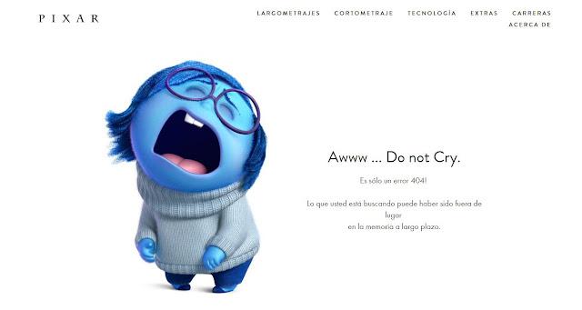 Error 404 - Pixar
