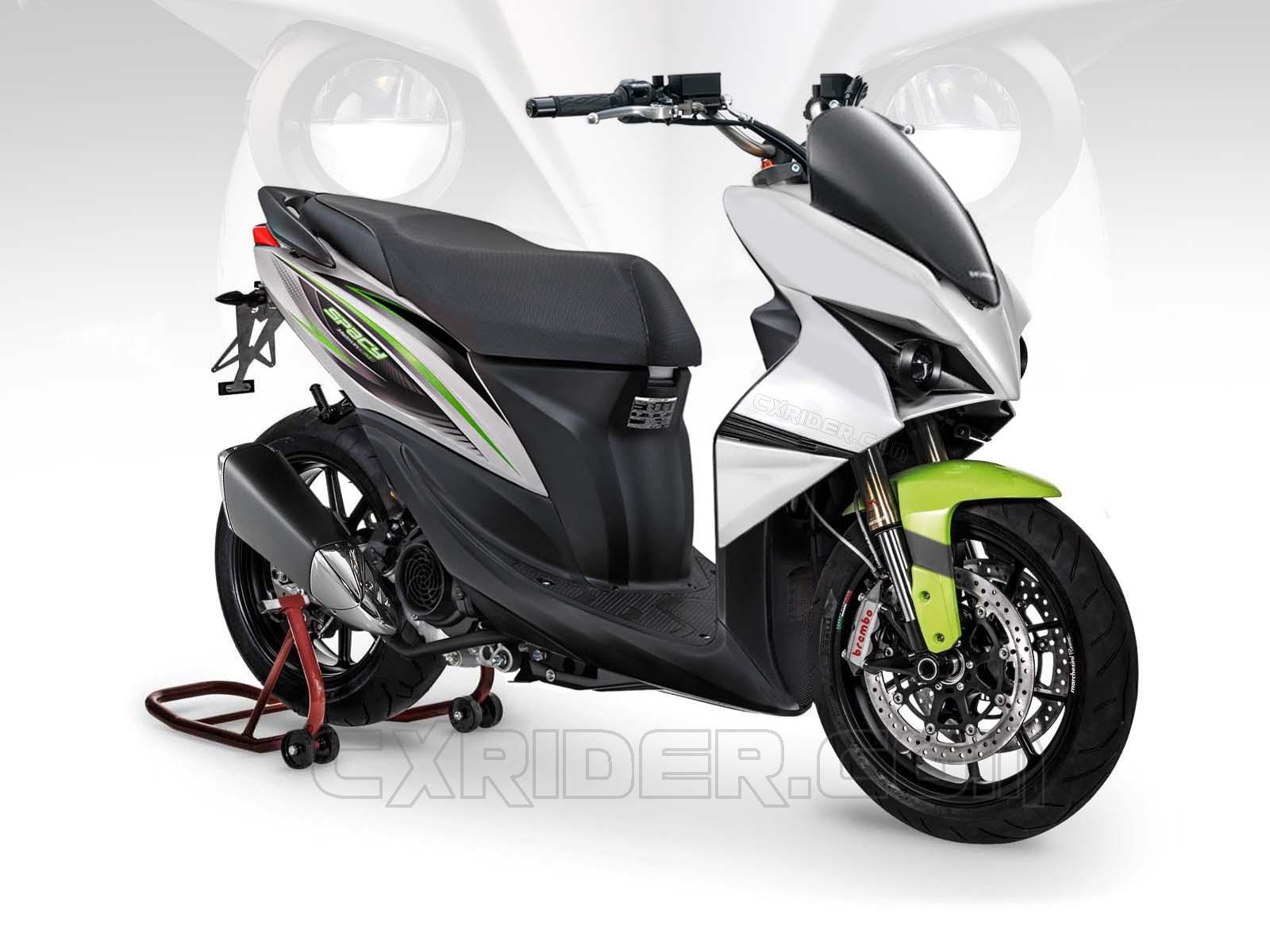 Cara Modif Motor Honda Spacy Terkeren