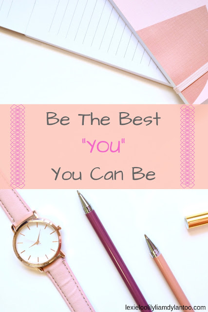 "Be The Best ""YOU"" You Can Be - Why I'm choosing this mindset over goals and resolutions for the New Year! #Goals #Resolutions"