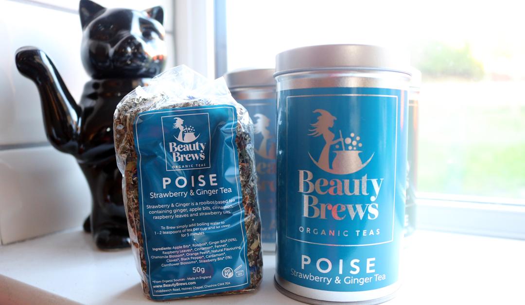 Beauty Brews Organic Tea in Poise