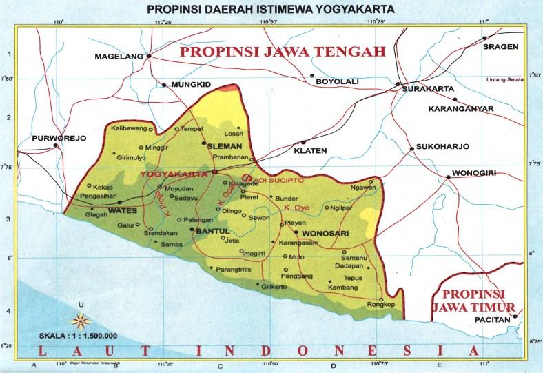 Peta Provinsi di Indonesia (Bagian 2) | Peta Pembelajaran