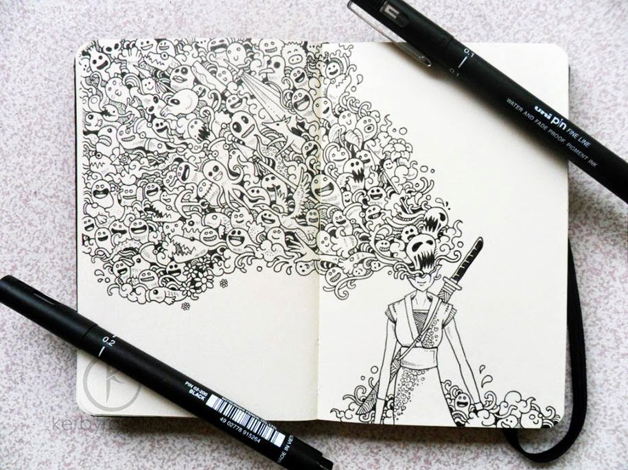 Doodles Come To Life Perception8