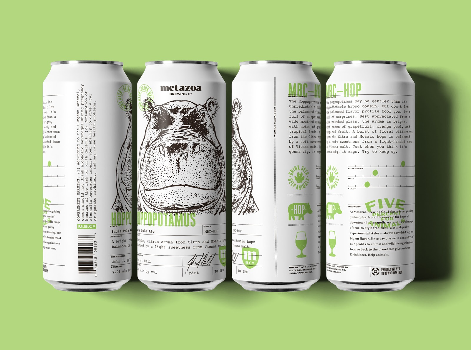 Metazoa Brewing Co  on Packaging of the World - Creative