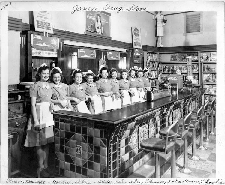 Jones Drug Store Hastings Nebraska 1943 Vintage Everyday