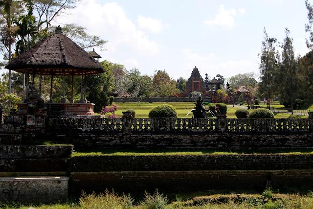 Vista de Taman Ayun desde fuera (Bali)