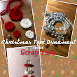 Scrap Yarn Christmas Tree Ornament