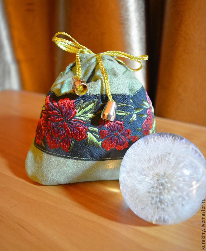 Gift Pouch with a Drawstring Tutorial