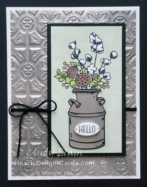 Heart's Delight Cards, Country Home, Country Lane Suite, Tin Tile TIEF, Sneak Peek, Stampin' Up!