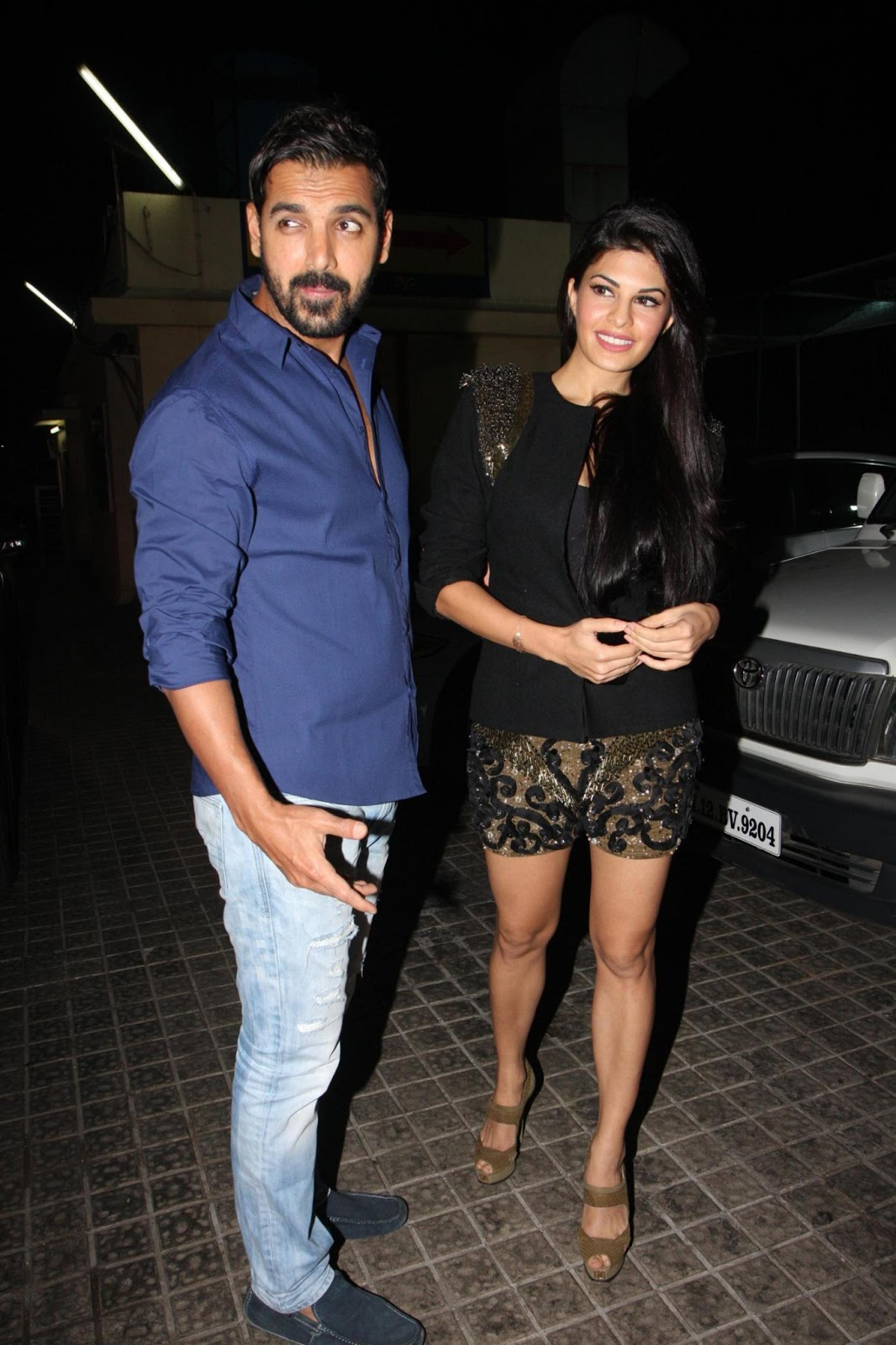 John Abraham and Jacqueline Fernandez at Race 2 Special ...