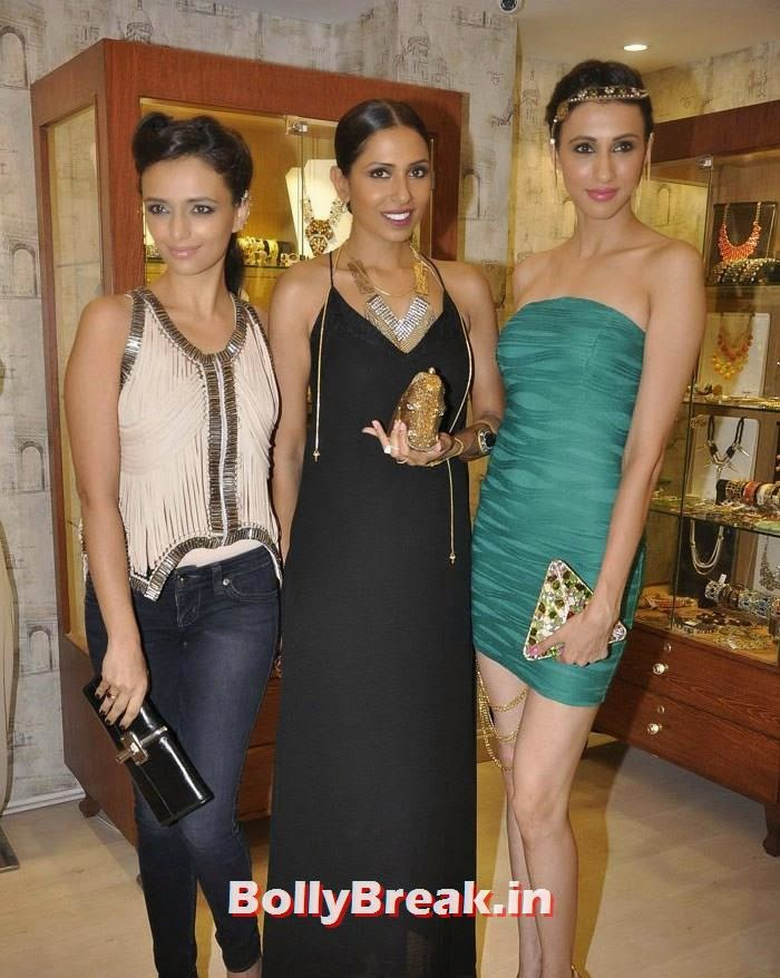 Roshni Chopra, Candice Pinto, Alesia Raut, Pics from Bansri Mehta Jewellery Lounge Preview