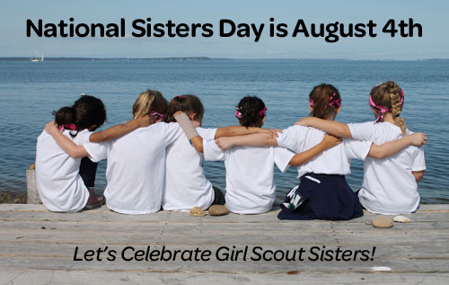 girl scouts of nassau county national sisters day is august 4