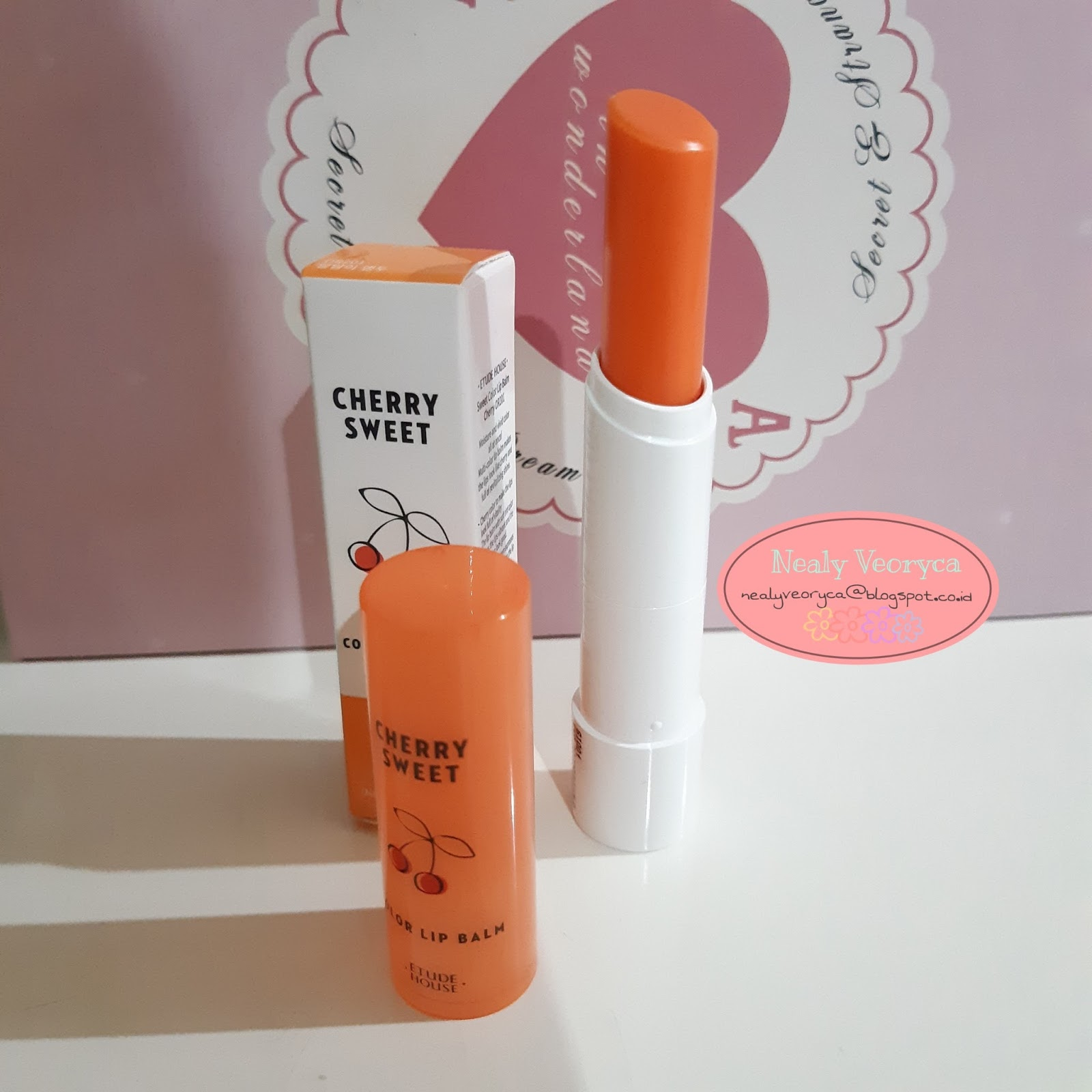Nealy Veoryca Glow Tint Daring Goban X Molita Review Etude House Cherry Sweet Color Lip Balm Or201