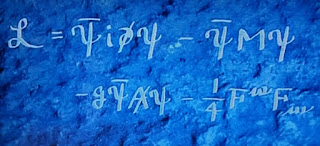 La lagrangiana de la Electrodinamica Cuantica
