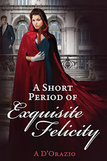 Book cover: A Period of Exquisite Felicity by Amy D'Orazio