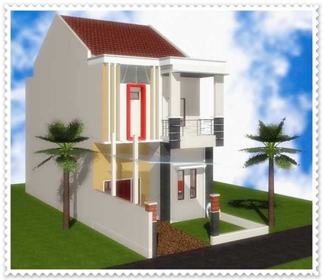 contoh rumah minimalis type 36 2 lantai 2016