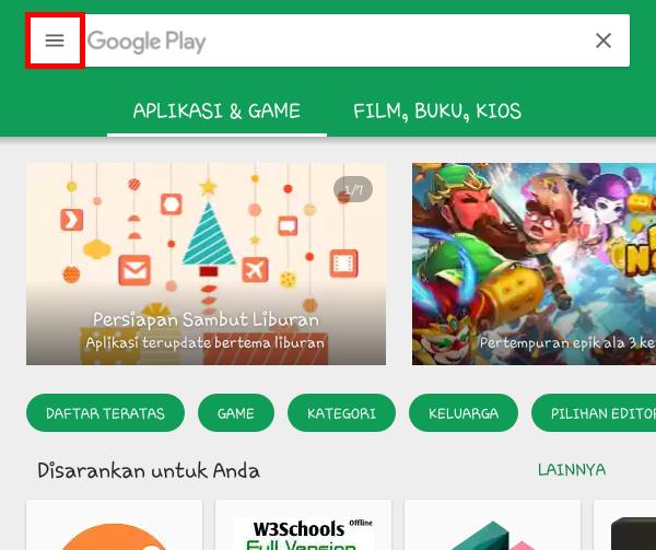 Mematikan Auto Update Aplikasi di Google Play Store