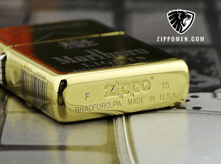 Zippo Marlboro Cao Cấp Khắc Xâu 5 Mặt | Phiên Bản Giới Hạn Xuất Nhật
