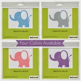 bobee elephant decal package