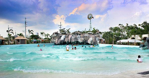 Water Park Resort in Bulacan, Philippines